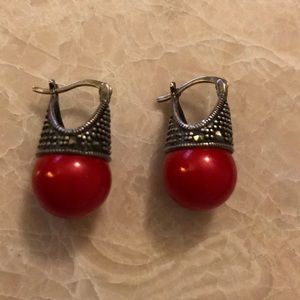 9.25 sterling silver earrings